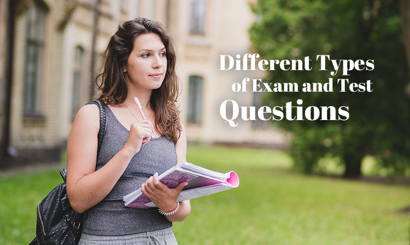 types of exam and test questions