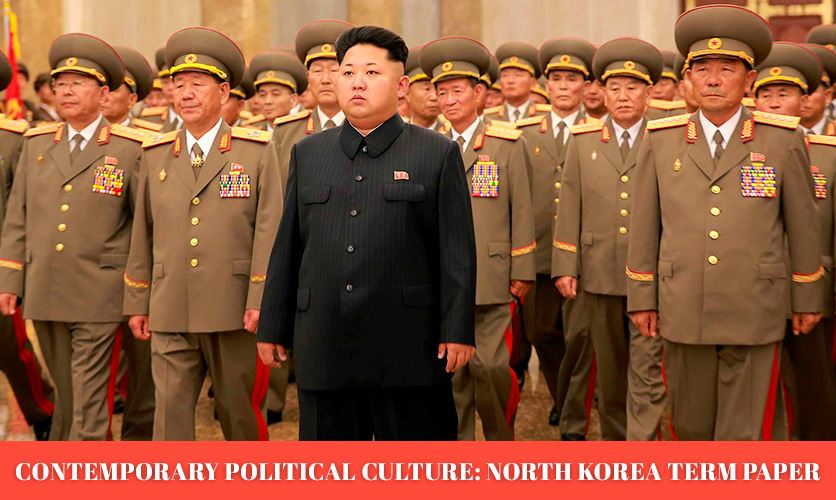 Term-Paper-about-Contemporary-Political-Culture_North-Korea