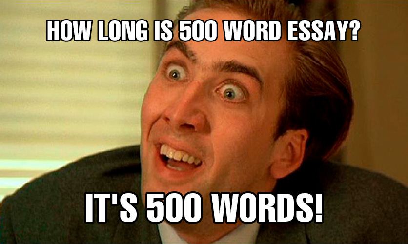 what-is-500-word-essay-length